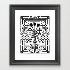 Eye of Vengence Framed Art Print
