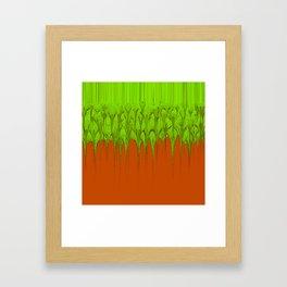 Chemical Spill Framed Art Print