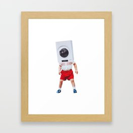 machine boy Framed Art Print