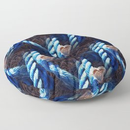 Rope and butterfly pattern Floor Pillow