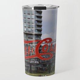 Cola sign at New York City Travel Mug