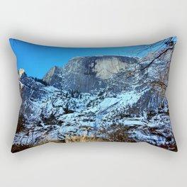 Yosemite National Park - Half Dome Rectangular Pillow