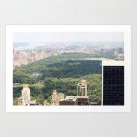 New York/Central Park Art Print