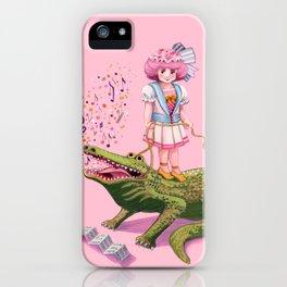 My Pet Crocodile iPhone Case