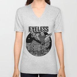 """""""EYELESS PLACE SCAPE"""" Unisex V-Neck"""