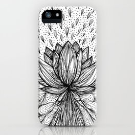 The Immortal Lotus iPhone Case