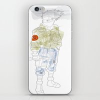 kakashi iPhone & iPod Skins featuring Kakashi Hatake by March Hunger