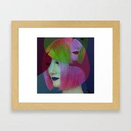 PINK BOB Framed Art Print