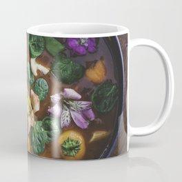 Floral Soup Coffee Mug