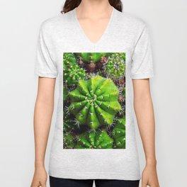 cactuses Unisex V-Neck