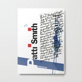 Calligraphy 2 Metal Print