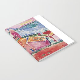 View of Collioure - Henri Matisse - Exhibition Poster Notebook