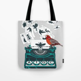 Alphabet of Life Tote Bag