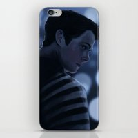 stiles iPhone & iPod Skins featuring Stiles Stilinski by Inkforwords
