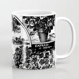 Childs' Dwarf Nasturtiums 1895 Coffee Mug