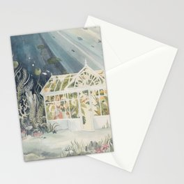 Underwater Greenhouse Stationery Cards