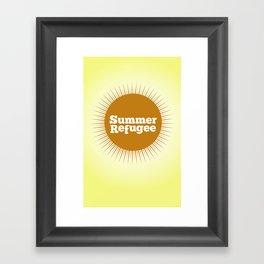 Summer Refugee Framed Art Print