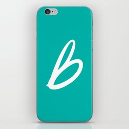 Recettes du Bonheur - Bleu iPhone Skin