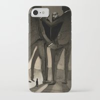 kafka iPhone & iPod Cases featuring Kafka by Cory Michael Ecker