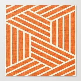 Slice Orange Canvas Print