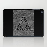 joy division iPad Cases featuring Triforce // Joy Division by Daniel Mackey