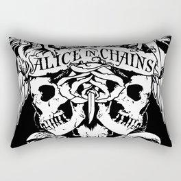 alice in chains logo tour 2020 2021 ngapril Rectangular Pillow