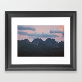 Evening vibes - Landscape and Nature Photography Framed Art Print