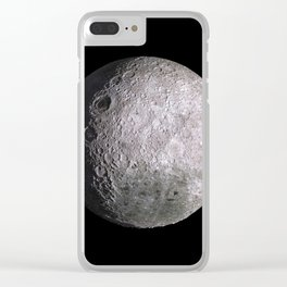 The Moon Dark Side HD Clear iPhone Case