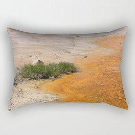 Geothermal Area Colors Rectangular Pillow