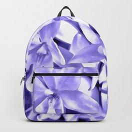 Cascading orchids - Violet Backpack