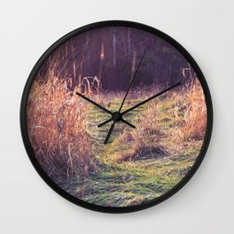 Fantasy Field Wall Clock