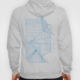 Architectural Blue Print Hoody