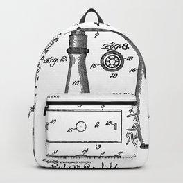 Gillette Patent 1904 Backpack