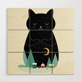 Silent Night Wood Wall Art