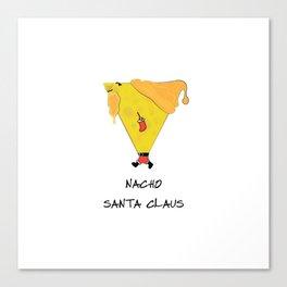 Nacho Santa Claus Canvas Print