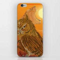 Solar owls -sun  iPhone & iPod Skin