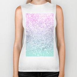 Mermaid Girls Glitter #1 (2019 Pastel Version) #shiny #decor #art #society6 Biker Tank