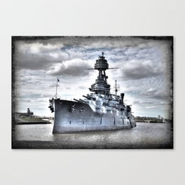 USS Texas Canvas Print