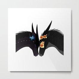 Wings of Fire - Dragon Flame Metal Print