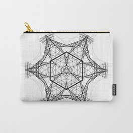 electro mandala Carry-All Pouch