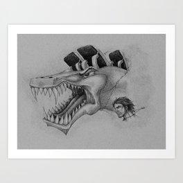Alter Ego Art Print