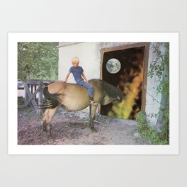 Country Boy Art Print