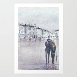 Tour of St. Petersburg Art Print