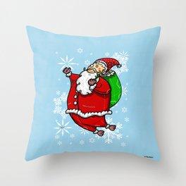 Santa Claus Sbirù Throw Pillow