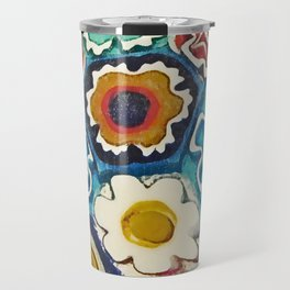 Murano Flowers Travel Mug