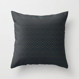 Golden seamless pattern Throw Pillow