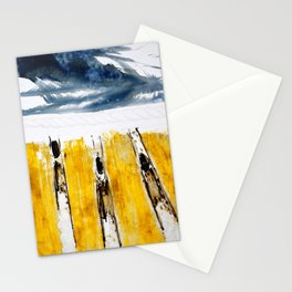 Three Flying Figures Stationery Cards