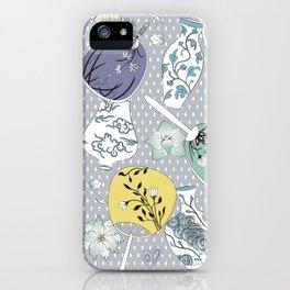 Japanese Fans iPhone Case