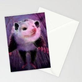 possum surprise Stationery Cards