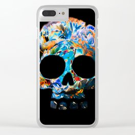 Death Flower Clear iPhone Case